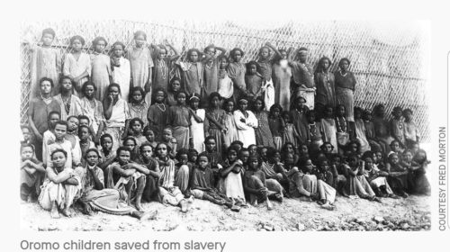The story of Oromo slaves bound for Arabia who were taken to